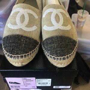 Chanel Espadrilles BNIB